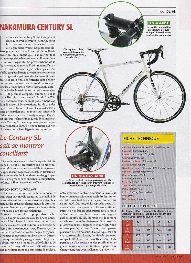 les essais du magazine le cycle r serv s une lite v lo route cyclisme cyclosport. Black Bedroom Furniture Sets. Home Design Ideas